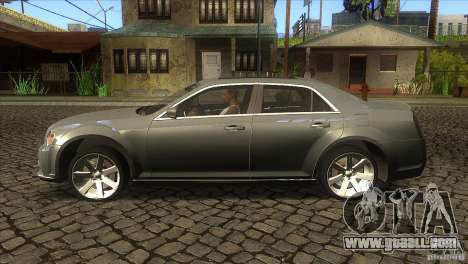 Chrysler 300 SRT-8 2011 V1.0 for GTA San Andreas left view