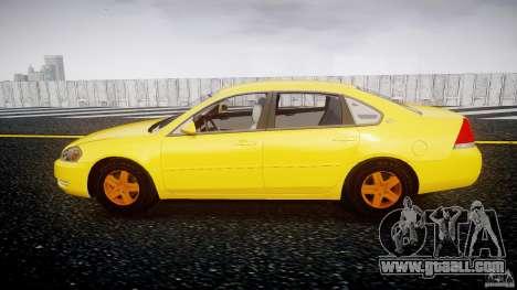 Chevrolet Impala 9C1 2012 for GTA 4 left view