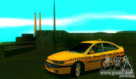 Renault Megane Taksi for GTA San Andreas