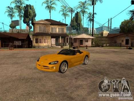 Dodge Viper SRT10 Impostor Tuning for GTA San Andreas