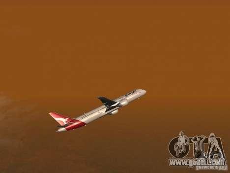 Boeing 787 Dreamliner Qantas for GTA San Andreas side view