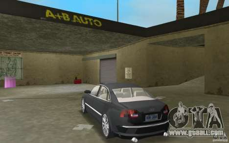Audi A8 for GTA Vice City