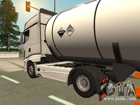 Scania R700 Euro 6 for GTA San Andreas left view