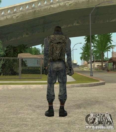 Grouping of Mercenaries from a stalker for GTA San Andreas third screenshot