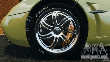 Pagani Huayra 2011 v1.0 [EPM] for GTA 4 interior