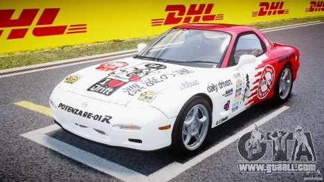 Mazda RX-7 1997 v1.0 [EPM] for GTA 4 back view
