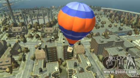 Balloon Tours option 6 for GTA 4 back left view