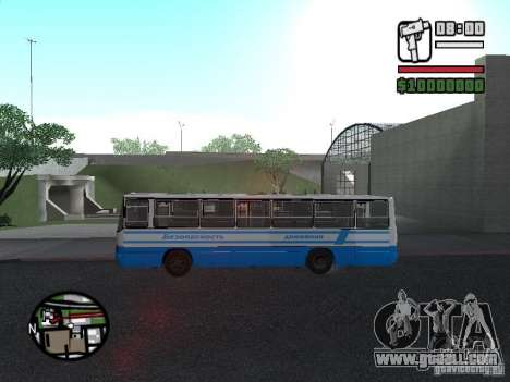 Ikarus 260 safety for GTA San Andreas back left view