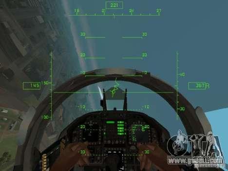 Aviation HUD for GTA San Andreas third screenshot