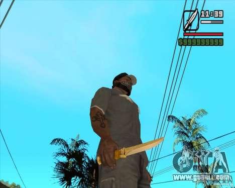 Prince's Knife for GTA San Andreas second screenshot