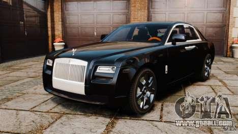 Rolls-Royce Ghost 2012 for GTA 4