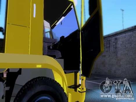 KAMAZ 62177 for GTA San Andreas upper view
