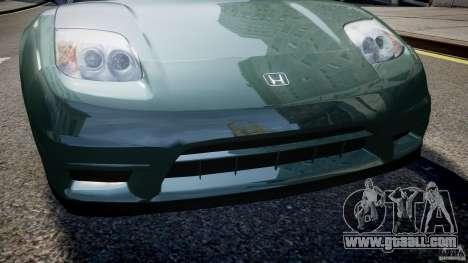 Honda NSX NA2 [Beta] for GTA 4 wheels