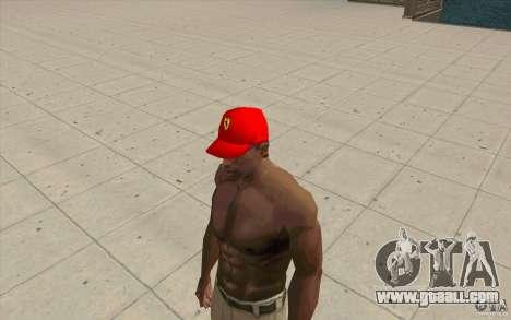 Ferrari Cap for GTA San Andreas