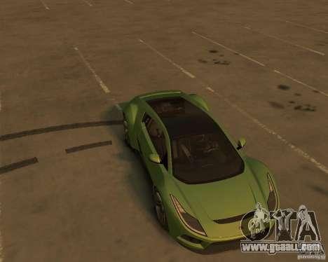 2010 Saleen S5S Raptor for GTA 4 back view