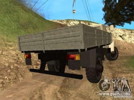 GAZ 3308 Sadko for GTA San Andreas back left view