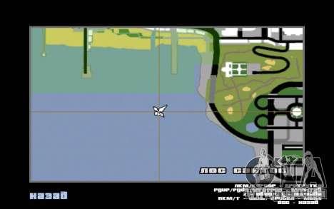 Mountain map for GTA San Andreas seventh screenshot