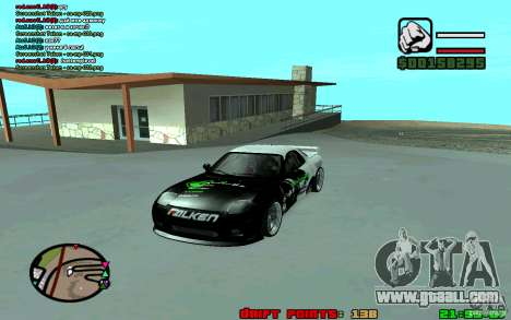 Mazda RX7 Drift for GTA San Andreas