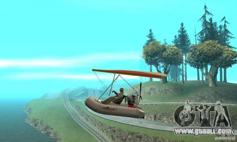 Wingy Dinghy (Crazy Flying Boat) for GTA San Andreas left view