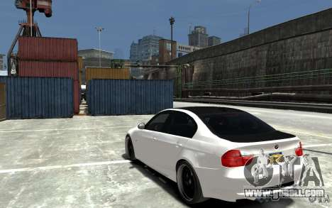 BMW 330i E60 Tuned 2 for GTA 4 back left view