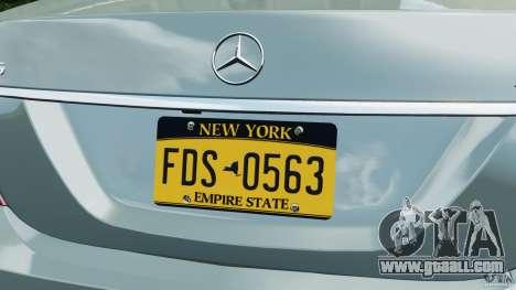 Mercedes-Benz S65 AMG 2012 v1.0 for GTA 4 wheels