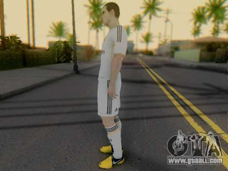 Gareth Bale for GTA San Andreas third screenshot