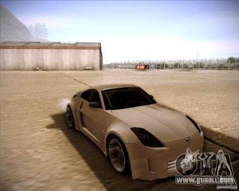 Nissan 350Z AdHoc for GTA San Andreas