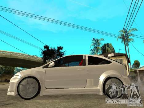 Ford Focus Tuned for GTA San Andreas left view