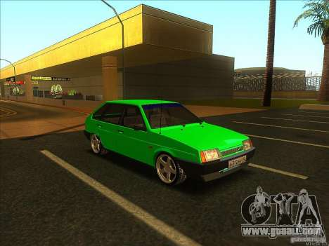 VAZ 2109 Winter for GTA San Andreas left view