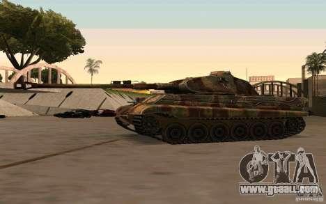 Pzkpfw VII Tiger II for GTA San Andreas