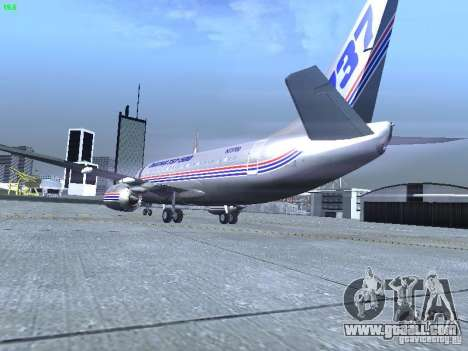 Boeing 737-500 for GTA San Andreas right view