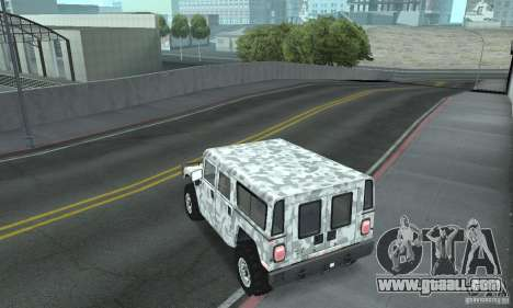 Hummer H1 for GTA San Andreas interior