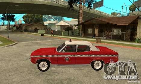 AMC Matador Taxi for GTA San Andreas left view