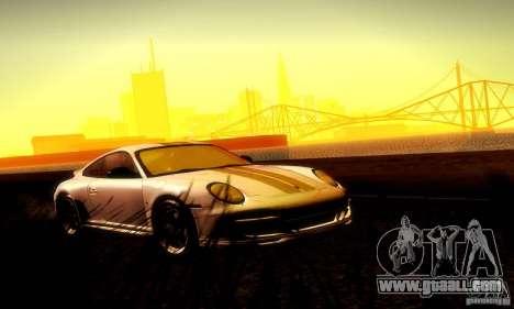 Porsche 911 Sport Classic for GTA San Andreas upper view
