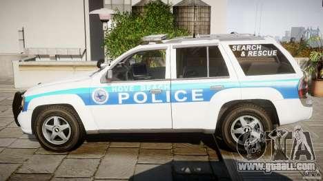 Chevrolet Trailblazer Police V1.5PD [ELS] for GTA 4 left view