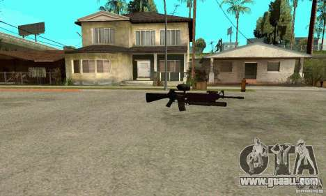 M16A4 + M203 for GTA San Andreas third screenshot