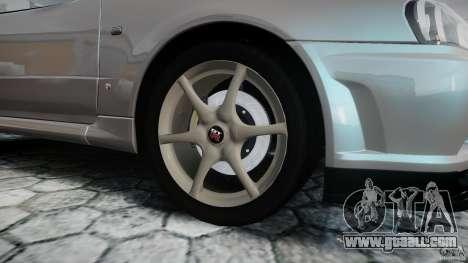 Nissan Skyline GT-R R34 2002 v1 for GTA 4 upper view