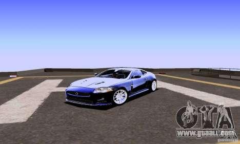 Jaguar XKRS for GTA San Andreas