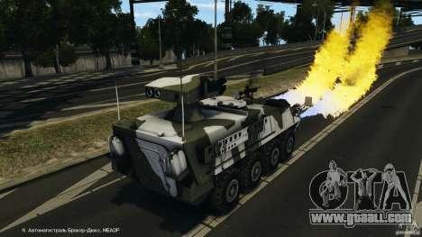 Stryker M1134 ATGM v1.0 for GTA 4 bottom view