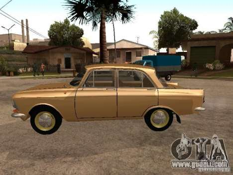 Moskvitch 408 Elite for GTA San Andreas left view