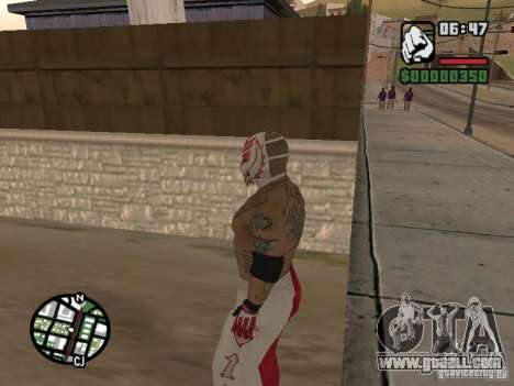 Rey Mysterio for GTA San Andreas third screenshot