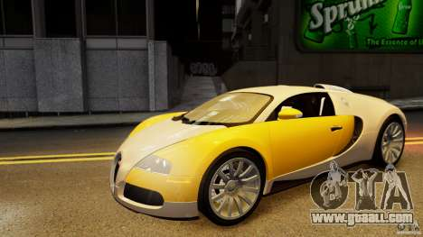 Bugatti Veyron 16.4 v1.0 wheel 2 for GTA 4 side view