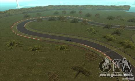 GOKART track Route 2 for GTA San Andreas eleventh screenshot