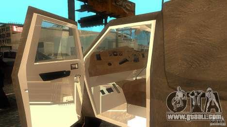 Dumb and Dumber Van for GTA San Andreas back left view
