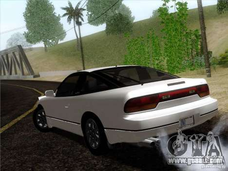 Nissan 240SX S13 - Stock for GTA San Andreas left view