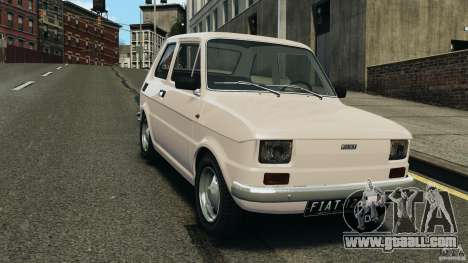 Fiat 126 Classic for GTA 4