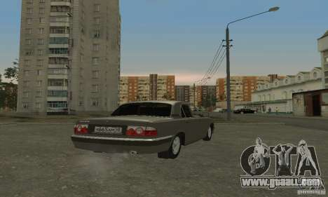 GAZ 3110 for GTA San Andreas left view