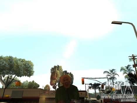 Act Dead for GTA San Andreas third screenshot