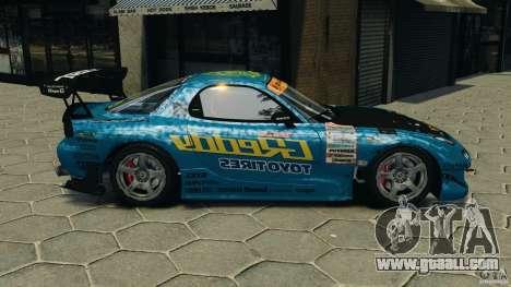 Mazda RX-7 RE-Amemiya for GTA 4 left view