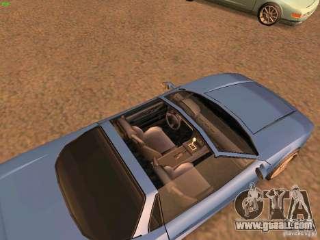 Infernus Revolution for GTA San Andreas left view